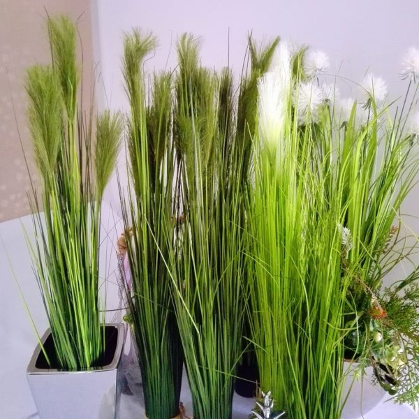 Dekoracje ze sztucznych roślin
